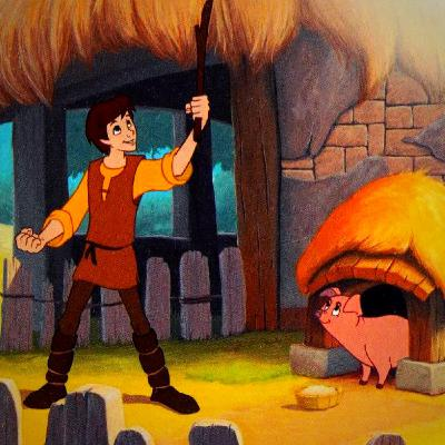 A Very Special Pig By The Black Cauldron