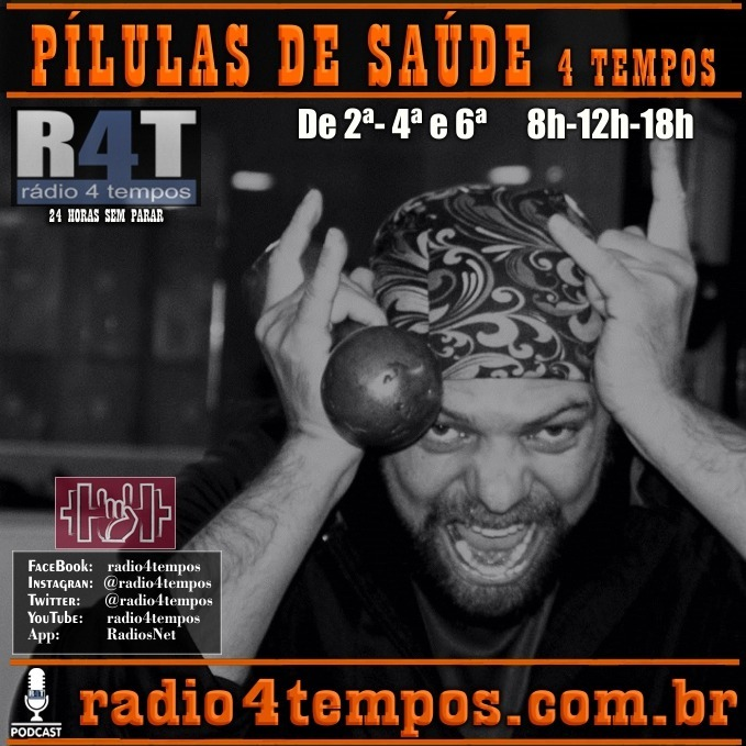 Rádio 4 Tempos - Pílulas de Saúde - 41:Rádio 4 Tempos