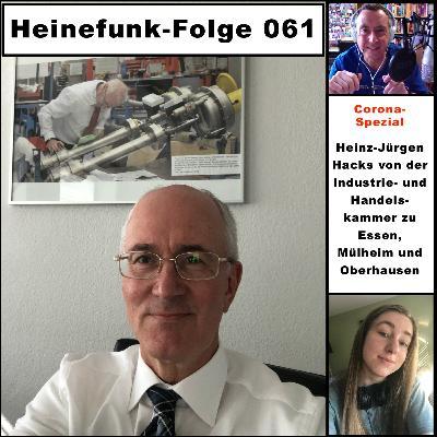 Heinefunk-Folge 061: Im Interview ist Heinz-Jürgen Hacks von der Industrie- und Handelskammer