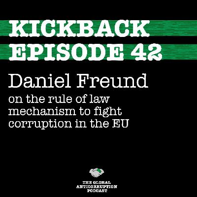 42. Daniel Freund on the rule of law mechanism to fight corruption in the EU