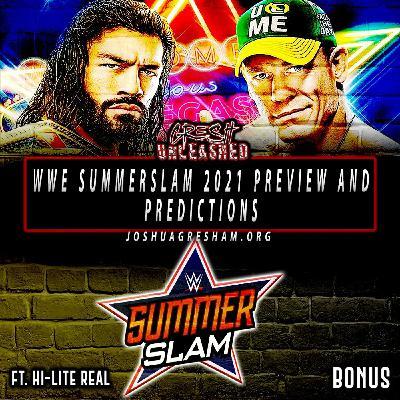 Cena vs. Reigns; Belair vs. Banks 2   WWE Summerslam 2021 Preview & Predictions   Bonus