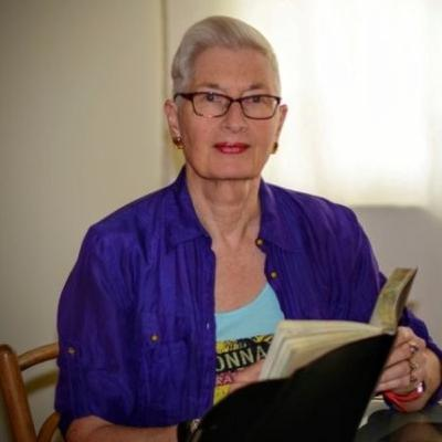 Caregivers Stories: Gerda Saunders is an author, mother, wife & living with Microvascular Dementia & has a plan for her death