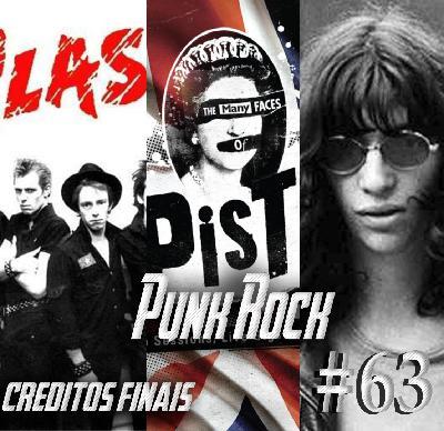 Podcast Créditos Finais #63 - Traindo o movimento do Punk Rock!