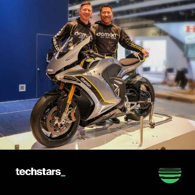 Live from CES: Damon Motorcycles Co-founder and CTO Dominique Kwong on the power of business and engineering partnerships and the emotional journey behind building a company