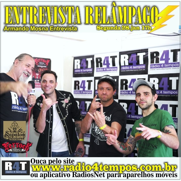 Rádio 4 Tempos - Entrevista Relâmpago 72