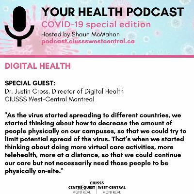 COVID - 19 - Dr. Justin Cross - E085 - Your Health Podcast