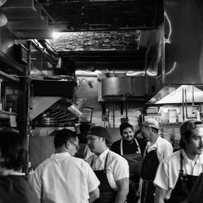 Episode 40: Talking shop —and books — with chefs and new authors Jeremiah Stone and Fabián von Hauske