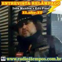 Rádio 4 Tempos - Entrevista Relâmpago 25
