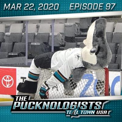 The Pucknologists 97 - Killing Time, Generating Content, Sharks Promo Items
