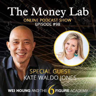 """Episode #98 - The """"If You Don't Work Hard You're A Bad Person"""" Money Story with Guest Kate Jones"""