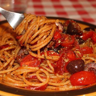 Spaghetti Alla kitano