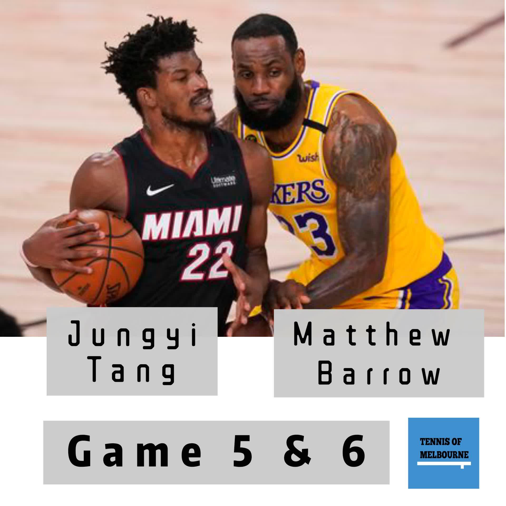 #184 NBA Finals | Jungyi Tang & Matthew Barrow