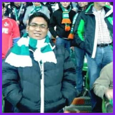 """6: """"This scarf, is like a conversation starter"""" - Muhammad Sofwan Zulkepli, Malaysia - SV Werder Bremen"""