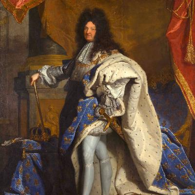 Le portrait du roi Louis XIV