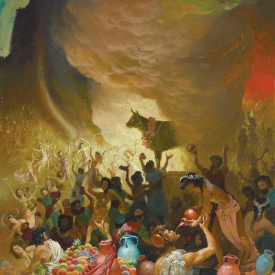 The Golden Calf—The Congregation at Prayer for February 25, 2021