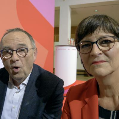 Regierungstagebuch #161 mit Saskia Esken & Norbert Walter-Borjans (SPD)