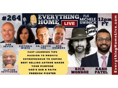 264: KASH PATEL | Learning, Profitable Ideas, Biz Growth, Author, Purpose, Faith