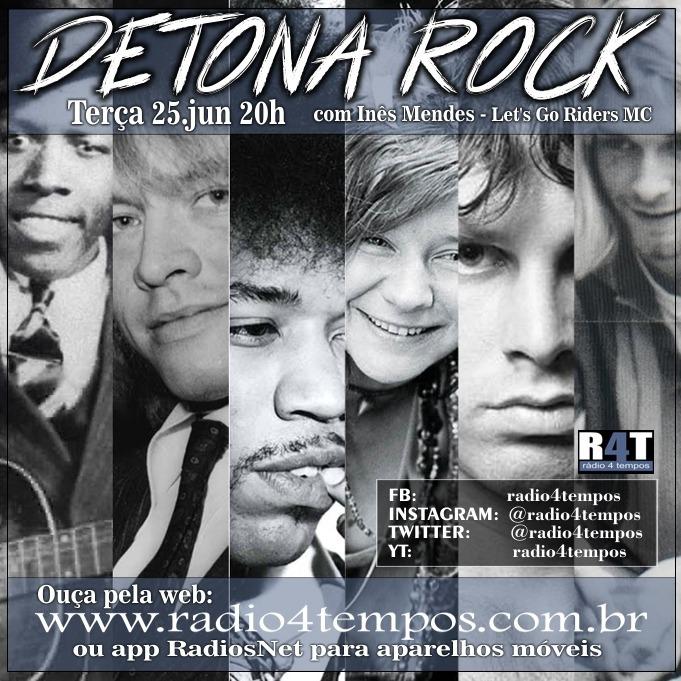 Rádio 4 Tempos - Detona Rock 16:Rádio 4 Tempos