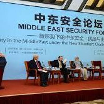 China in the Middle East-Stepping up to the plate