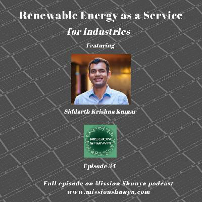 34: Renewable Energy as a Service for Industries
