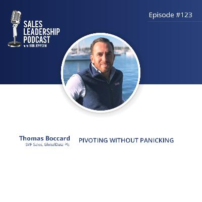 Episode 123: #123: Thomas Boccard of GlobalData Plc — Pivoting without Panicking