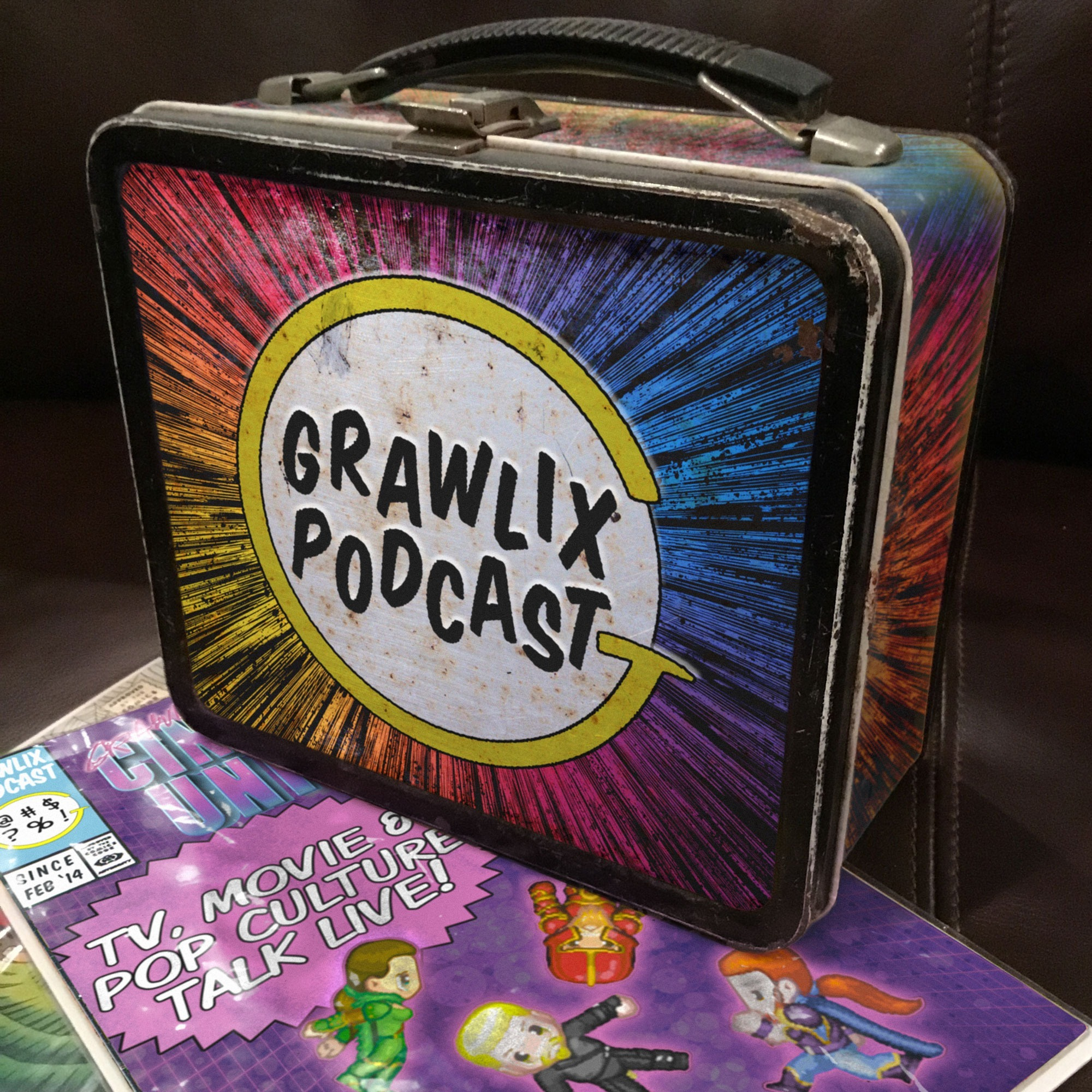 #live Grawlix Lunch Box: August 2, 2019