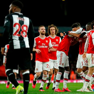 Arsenal 4-0 Newcastle: Magpies in worrying collapse at the Emirates