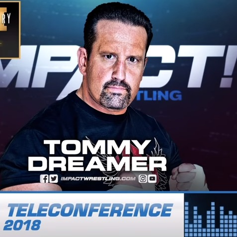 TOMMY DREAMER PRESS CONFERENCE