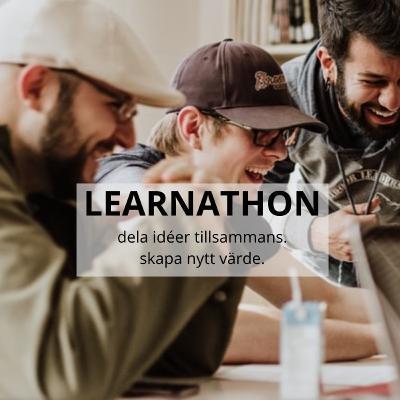 Learnathon skapar förändring och förbättring. Fredrik Scheja, Jonas Jaani