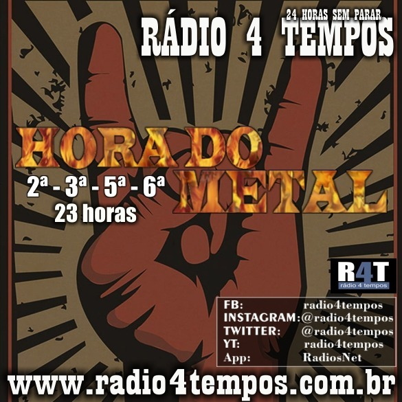 Rádio 4 Tempos - Hora do Metal 06