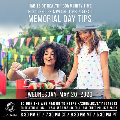 Bust Through a Weight Loss Plateau: Memorial Day Tips