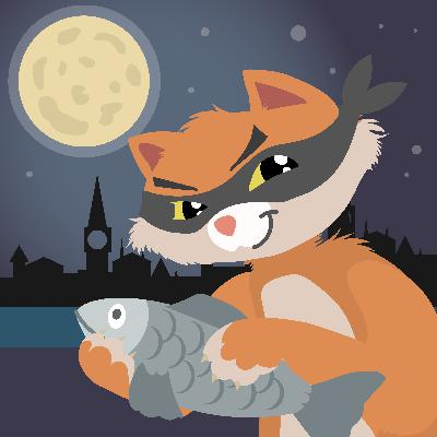 Delight in the Antics of this Cat Burglar -  Storytelling Podcast for Kids - McCavity the Mystery Cat :E106