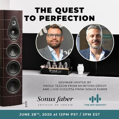 Sonus faber   Panel Discussion   The Quest to Perfection