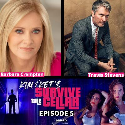 5: Barbara Crampton and Travis Stevens