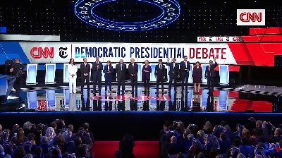 Recapping the October 2020 Democratic presidential debate