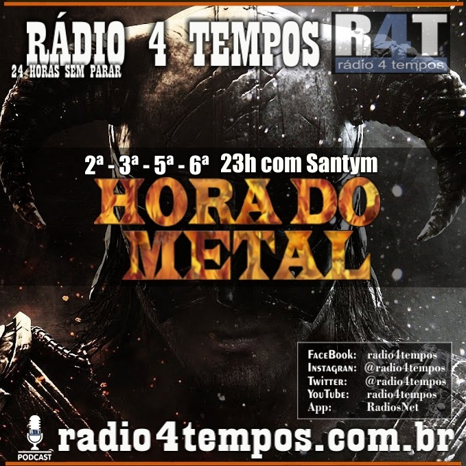 Rádio 4 Tempos - Hora do Metal 27:Rádio 4 Tempos