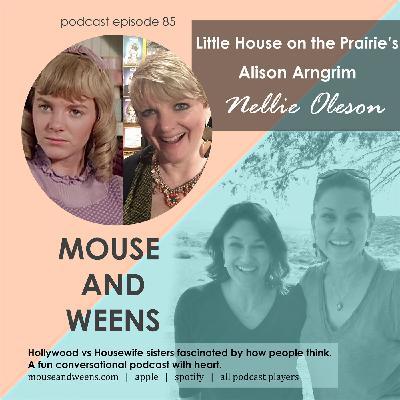 Nellie Oleson! Little House on the Prairie's Alison Arngrim Pt.1