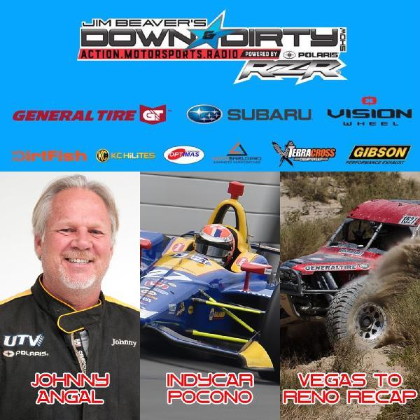 #350 – Johnny Angal, Vegas to Reno, & IndyCar