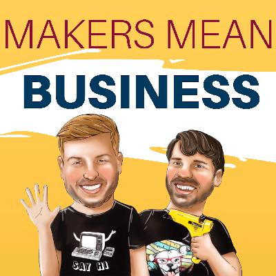 COMING SOON: Makers Mean Business | A Podcast by Damon Oates & Parker Stelly for Craftpreneurs who want to turn their handmade crafts into a thriving online business!