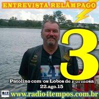 Rádio 4 Tempos - Entrevista Relâmpago 14