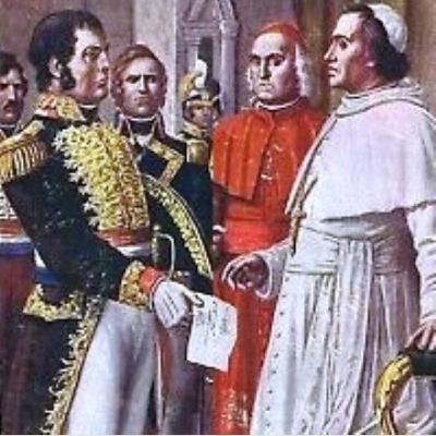 Il conflitto tra Napoleone e Papa Pio VII