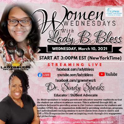#28 March 10, 2021 (Dr. Sindy Speaks) Women Wednesdays