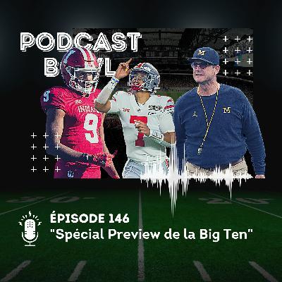 Podcast Bowl – Episode 146 : Spécial Preview de la Big Ten