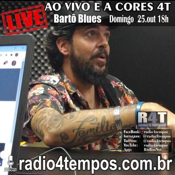 Rádio 4 Tempos - AVAC - Ao Vivo e A cores 75:Rádio 4 Tempos