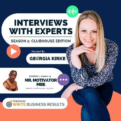 Why Every Entrepreneur Should Pour Love Into Their Business with Mr Motivator MBE
