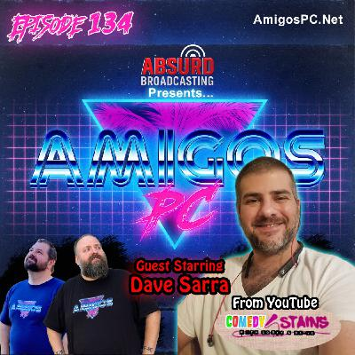 134. Dave Sarra Comedian and co host of Comedy Stains