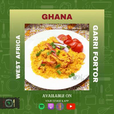 Ghana  - Gari Fortor
