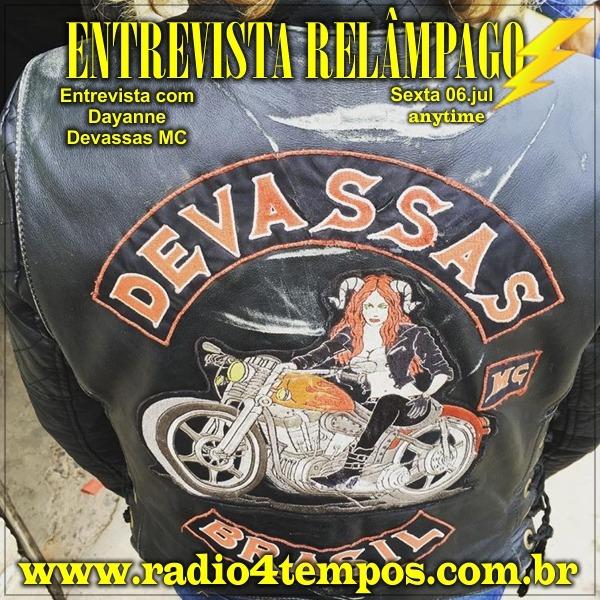 Rádio 4 Tempos - Entrevista Relâmpago 34