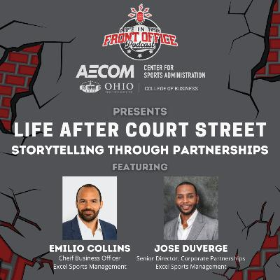 "Future of Partnerships with Emilio Collins & Jose Duverge, Excel Sports Management, Ohio U ""Life After Court Street"" Series"
