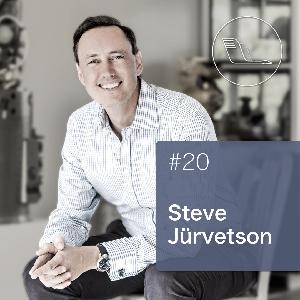 #020: Steve Jurvetson – polymath, world renowned venture capitalist, thinker of human evolution